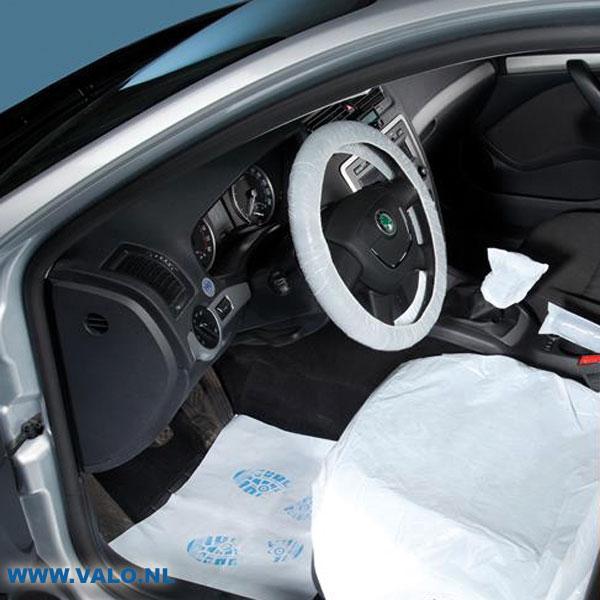 Auto interieur beschermingsset 5 delig voor complete for Auto interieur reinigen zelf