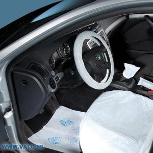 Auto interieur beschermingsset 5 delig voor complete for Auto interieur reparatie